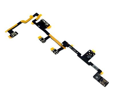 Power Button And Volume Flex Cable For Ipad 2 Injured