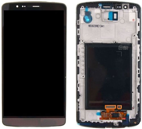 LCD Display Touch Screen Glass Digitizer Full Assembly with Housing, Black,  for LG G3, D850 D851 D855 VS985 LS990