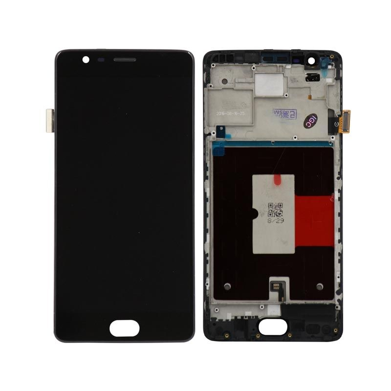 OnePlus 3 Digitizer LCD Assembly with Frame