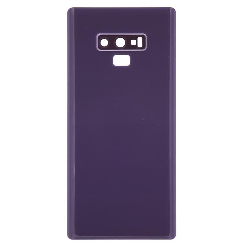 new product 03872 caad8 Replacement Samsung Galaxy Note 9 Back Door Battery Cover, Purple