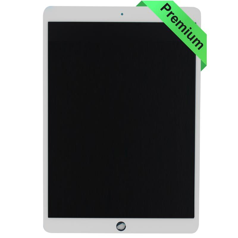 68006e04c00f55 for iPad Pro 10.5 Glass and Digitizer LCD Full Assembly, White - Injured  Gadgets