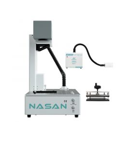 Nasan - LS1 Laser Back Glass Separator Machine with Black Glass Clamper & Fume Extractor