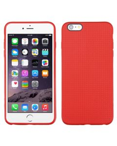 Apple iPhone 6 Plus / 6S Plus - MyBat Candy Skin Dots Cover - Red