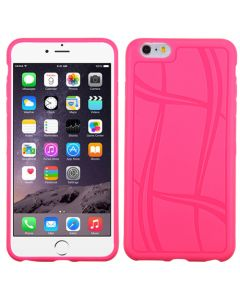 Apple iPhone 6 Plus / 6S Plus - MyBat Basketball Texture Candy Skin Cover - Hot Pink