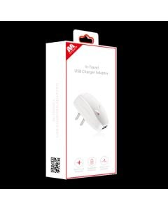 MyBat In-Travel USB Charger Adapter w/ IC Chips - White