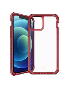 ITSKINS Supreme Clear Case for Apple iPhone 12 mini - Red