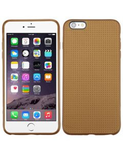 Apple iPhone 6 Plus / 6S Plus - MyBat Candy Skin Dots Cover - Gold