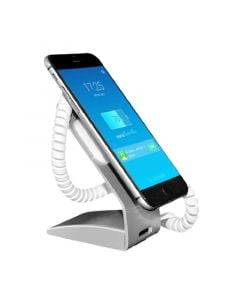 Standalone Mobile Phone Security Stand with Type-C Dock Connector (Metal)