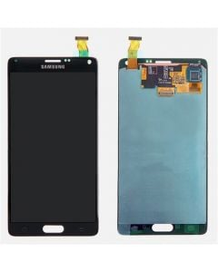 Refurbished - OLED Screen and Digitizer Assembly for Samsung Galaxy Note 4 (N910) (No Frame) (Charcoal Black)