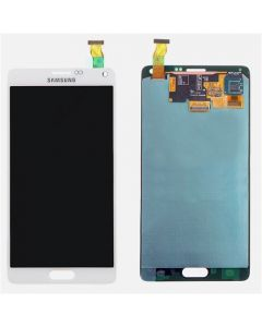 Refurbished - OLED Screen and Digitizer Assembly for Samsung Galaxy Note 4 (N910) (No Frame) (Frosted White)