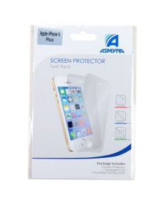 Apple iPhone 6 Plus / 6S Plus - Asmyna Twin Pack LCD Screen Protectors - Clear