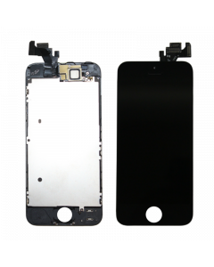 Full Assembly Touch Screen Glass Digitizer & LCD Display For iPhone 5 Full Assembly (Black)