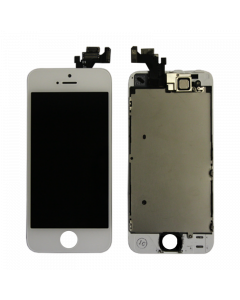 Full Assembly Touch Screen Glass Digitizer & LCD Display For iPhone 5 Full Assembly (White)