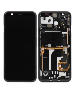 OLED Screen and Digitizer Assembly w/ Frame for Google Pixel 4 (Gray)