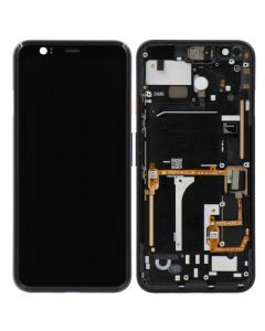 OLED Screen and Digitizer Assembly w/ Frame for Google Pixel 4 (Pink)