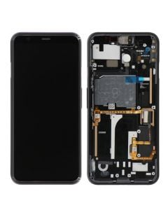 OLED Screen and Digitizer Assembly w/ Frame for Google Pixel 4 (White)