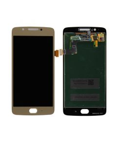 LCD Screen and Digitizer Assembly for Motorola Moto G5 (No Frame) (Gold)