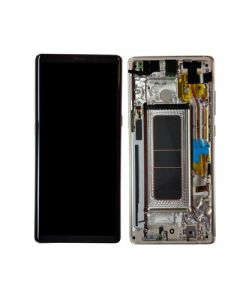 Service Pack - OLED Screen and Digitizer Assembly w/ Frame for Samsung Galaxy Note 8 (N950) (Maple Gold)