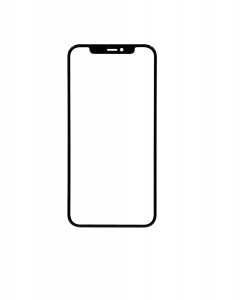 Front Glass for iPhone 11 Pro Max (Black)