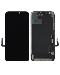Premium Quality (Refurbished) OLED Screen and Digitizer Assembly, Black, for iPhone 12 & iPhone 12 Pro