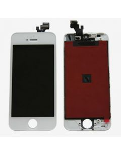 Premium Refurbished - LCD Screen and Digitizer Assembly for iPhone 5 (White)
