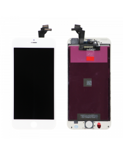 """Aftermarket LCD Screen And Digitizer Assembly, White, For IPhone 6 Plus (5.5"""")"""