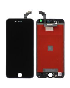 Premium Refurbished - LCD Screen and Digitizer Assembly for iPhone 6 Plus (Black)