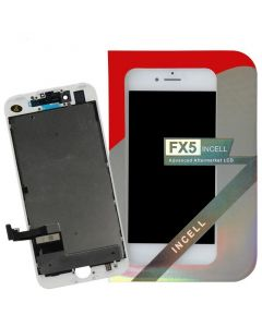 FX5 Incell - Aftermarket LCD Screen and Digitizer Assembly, for iPhone 7 (White)