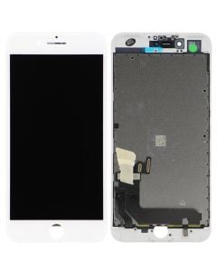 """Premium Quality (Refurbished) LCD Screen and Digitizer Assembly, White, for iPhone 7 Plus (5.5"""")"""