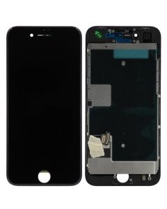 Premium Refurbished - LCD Screen and Digitizer Assembly for iPhone 8 / SE (2020) (Black)