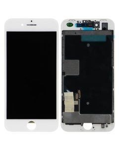 Premium Refurbished - LCD Screen and Digitizer Assembly for iPhone 8 / SE (2020) (White)