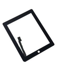 Premium - Glass and Digitizer Touch Panel for iPad 3 / iPad 4 (Black)