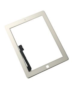 Premium - Glass and Digitizer Touch Panel for iPad 3 / iPad 4 (White)