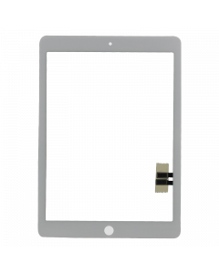 Replacement Glass and Digitizer Touch Panel, White, for iPad 6 (2018)
