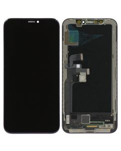 FX5 Hard OLED Screen and Digitizer Assembly, Black, for iPhone X