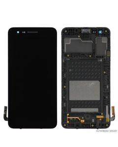 LCD Screen and Digitizer Assembly w/ Frame for LG Aristo 2 Plus (X212) (Black)