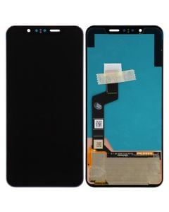 OLED Screen and Digitizer Assembly for LG G8S ThinQ (No Frame) (Mirror Black)