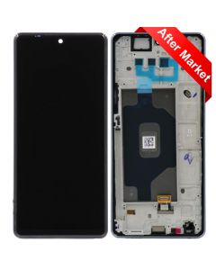 LCD Screen and Digitizer Assembly w/ Frame for LG Stylo 6 (Black)