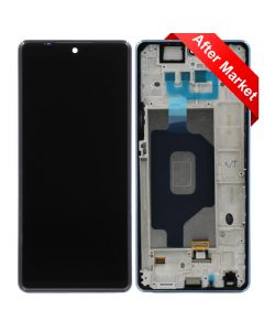 LCD Screen and Digitizer Assembly w/ Frame for LG Stylo 6 (Blue)