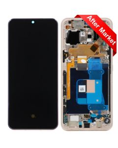 OLED Display and Lens Digitizer Assembly w/ Housing for LG V60 ThinQ (Gold)
