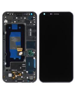 LCD Screen and Digitizer Assembly w/ Frame for LG Q6 / G6 Mini (Black)