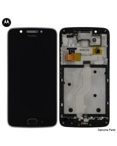 LCD Screen and Digitizer Assembly w/ Frame for Motorola Moto G5 (XT1670) (Black)