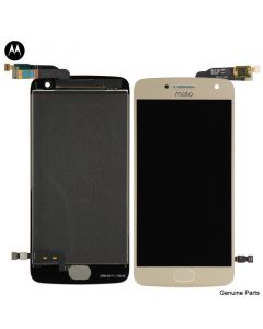 LCD Screen and Digitizer Assembly for Motorola Moto G5 Plus (XT1687) (No Frame) (Gold)