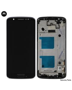 LCD Screen and Digitizer Assembly w/ Frame for Motorola Moto G6 (XT1925) (Deep Indigo)