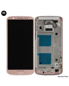 LCD Screen and Digitizer Assembly w/ Frame for Motorola Moto G6 (XT1925) (Oyster Blush)