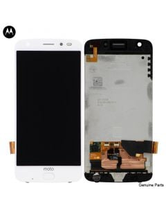 LCD Screen and Digitizer Assembly for Motorola Moto Z2 Force (XT1798) (No Frame) (White)