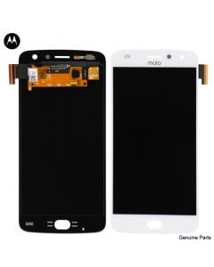 LCD Screen and Digitizer Assembly for Motorola Moto Z2 Play (XT1710) (No Frame) (White)