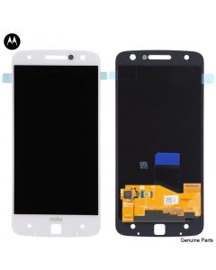 LCD Screen and Digitizer Assembly for Motorola Moto Z Droid (XT1650-01 / 03) (No Frame) (White)