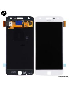 LCD Screen and Digitizer Assembly for Motorola Moto Z Play (XT1635) (No Frame) (White)