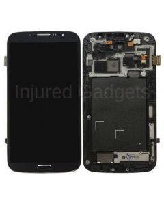 Complete Assembly - LCD Screen and Digitizer Assembly w/ Frame for Samsung Galaxy Mega (I9200 / I9205 / I527) (Black)